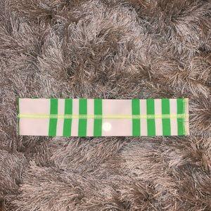 Striped lululemon headband